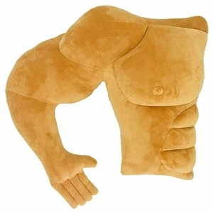 Vachchi muscle man pillow arm pillow body pillow novelty and prank product (right side)