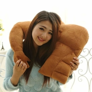 Muscle Man Hug Body Arm Support Plush Cotton Body Pillow Stuffed Plush Soft Toys Doll Car Sofa Chair Seat Throw Cushion Valentine's Day...