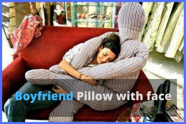 BF Pillow with face and head